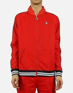 Fila Chinese Red/White-Peacoat Thurber Jacket - S