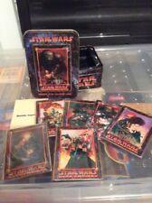 rare 1995 star wars metallic impressions dark empire collectors card set