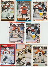 20 + Different KEN WREGGET cards lot 1989 - 1997 Penguins Flyers