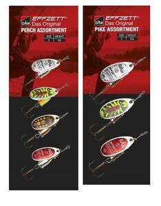 DAM Effzett Spinner Assortment Spoon Lure Pike or Perch Fishing