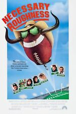NECESSARY ROUGHNESS (1991) ORIGINAL MOVIE POSTER  -  ROLLED