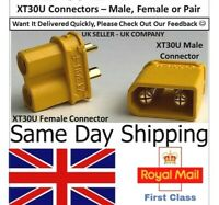 XT90 RC BATTERY CONNECTORS PLUGS SOCKETS FEMALE MALE NEW