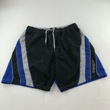 New listing Speedo Swim Trunks Adult Extra Large BIG Black Bathing Suit Shorts Swimming Mens
