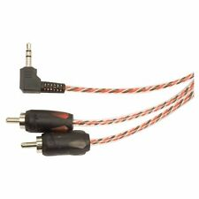 Stinger Pro 4000 Series Audiophile 6' 3.5mm Mini Jack to RCA Cable Adapter SI436