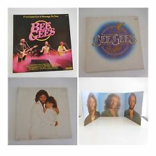 4 disques vinyles 33 tours BEE GEES CN2028 GREATEST 2658132 STREISAND GUILTY