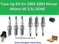 Tune Up Kit for 2002 2003 Altima PCV Valve, Spark PlugS, Oil Filter, Air Filter