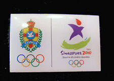 Singapore 2010 rare TONGA YOG Olympic NOC team pin