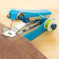 Portable Needlework Cordless Mini Hand-Held Clothes Fabrics Sewing Machine - UK