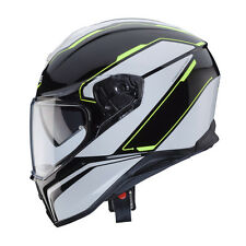 CASCO INTEGRAL CABERG DRIFT TOUR BLACK - BLANCO - AMARILLO FLUO TALLA M