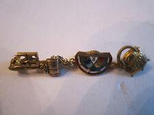 1952 10K Top Lapel Pin With - Legal Gavel & Pot Of Gold & Bfclr Pin - Tub Bba-2
