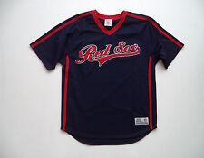 Mens BOSTON RED SOX  stadium Jersey sz M major league baseball glove game ball