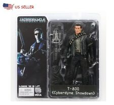 "NECA 7"" Terminator 2 T-800  Gatling Arnold PVC figure Toys Action Model"