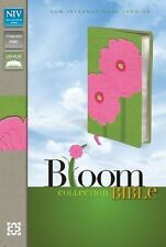 Bloom Collection Bible Leathersoft Green Pink Red Letter Edition NEW  NIV