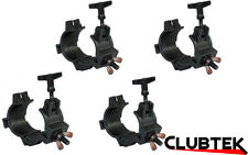 4 x Rhino Equinox Multi Clamp Half Coupler 26/38/50mm light T-bar O-Clamp Truss