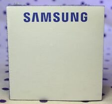 Samsung Post-its Sticky Notes Pad Cube Promo Advertising White Blue Logo SEALED
