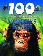 100 Things You Should Know About Monkeys, , New Book
