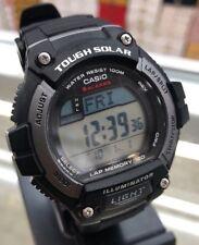 Casio Men's W-S220-1AV 'Classic' Digital Black Rubber Watch