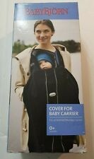 Baby Bjorn New Baby Carrier Cover City Black Fits All