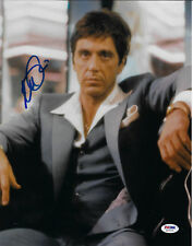 Al Pacino Autographed 11x14 Scarface Photo Tony Montana Suit - PSA/DNA