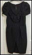 BNWOT Size 10 Miss Selfridge Business Dress - Soft Wool Type Fabric - M Washable