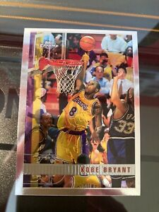 KOBE BRYANT NBA 1997-98 TOPPS CHROME (LOS ANGELES LAKERS) SECOND YEAR CARD
