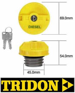 TRIDON LOCKING FUEL CAP HOLDEN RODEO KB TF88 TF93 TF97 TF99 DIESEL TFL234D