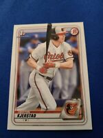 2020 Bowman Draft BD122 Heston Kjerstad Baltimore Orioles 1ST RD PICK