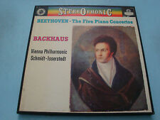 Wilhelm Backhaus Beethoven The Five Piano Concertos LP x 4 NM CSA2401 Box Set