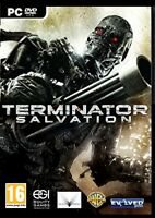 TERMINATOR SALVATION - THE END BEGINS. BRAND NEW SEALED DVD FOR PC.FREE SHIPPING
