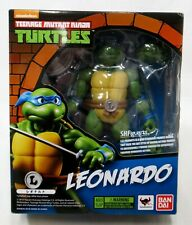 "Bandai SH Figuarts Teenage Mutant Ninja Turtles Leonardo 5.5"" Figure Complete"