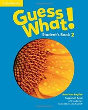Guess What! American English Level 2 Student's Book, Reed, Susannah, Very Good c
