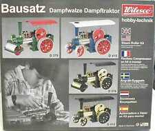 Wilesco 0375 Kit Dampfwalze Powered Toys Green Toys, Hobbies
