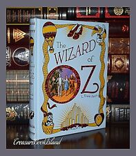 The Wizard of Oz by Frank Baum New Sealed Leather Bound Collectible Deluxe Ed
