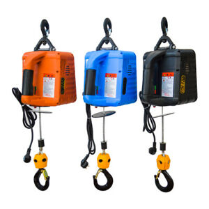 500KG Portable Electric Winch Electric Lifting Traction Hoist Electric Hoist New