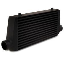 "2.5"" 63mm BLACK ALLOY FRONT MOUNT INTERCOOLER FMIC FOR AUDI A3 S3 A4 S4 TT Q3 Q5"