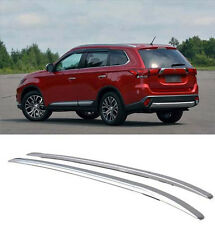 Roof Rack silver color painted alloy For 2013-2017 Mitsubishi Outlander silver