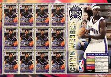 GRENADA CHRIS WEBBER STAMP SHEET 2004 mnh SACRAMENTO KINGS NBA BASKETBALL SPORTS