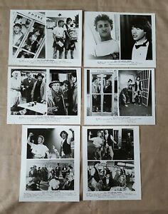 Bill & Ted's Excellent Adventure Press kit 6 different 8x10 photos Keanu Reeves