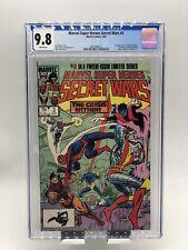 Marvel Super Heroes Secret Wars #3 CGC 9.8 WP KEY 1st App Volcana & New Titania