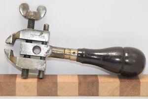 Vintage Millers Falls No.1 Hand Vise Tool Handle (INV L080)