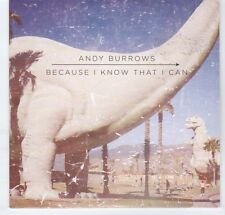 (EA153) Andy Burrows, Because I Know That I Can - 2012 DJ CD