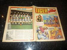 TIGER & JAG Comic - Date 20/12/1969 - Inc Blackburn Team Poster on back page