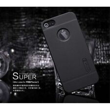 Black Nillkin for iPhone 5  5S Super Frosted Shield Hard Case + Screen Protector