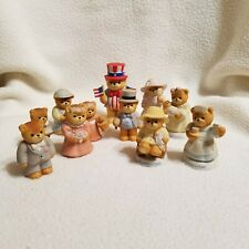Lot Of 11 Vintage Lucy & Me Lucy Riggs Enesco Teddy Bear Figurines '85 & '86