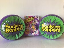 Very RARE Sock'em Socker Boppers -Vintage Inflatable Boxing Toys 1 Pair 1998