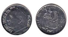 1981 Vaticano Lire 100 Giovanni Paolo II Anno III Fior di Conio Unc