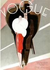 ART Deco MODA VOGUE magazine COVER NOV 1926... qualità bookprint