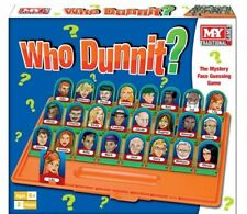 Who Dunnit? Traditional Board Game Family Mystery Face Guessing Game Gift