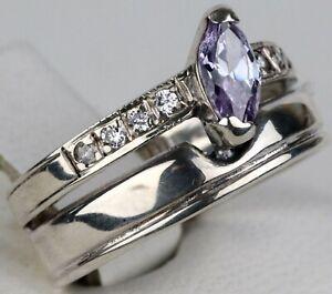Ring STERLING Silver 925 Fashion JEWELRY Woman GIRL Gift UKRAINE Ukrainian Sz7.5