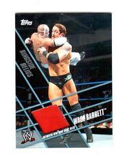 WWE Wade Barrett Topps 2011 Ringside Relics Used Ring Skirt Relic Card Red